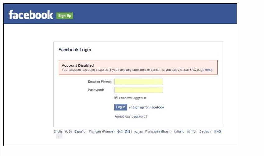 как обойти бан фейсбука